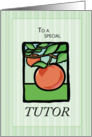 Tutor Thank You card