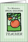 Special Education THANK YOU card