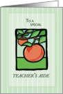 Teacher'S Aide Thank You card