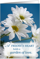 FRIEND on Mother&rsquo;s Day Daisies card