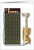 Guitar And Amp card