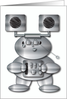 Robot Music Man card