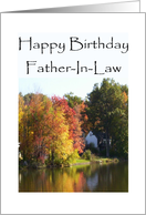 Happy Birthday To My Father-In-Law card