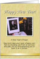 Custom religious New Years - Photo Card