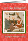 Christmas Romance Adult Sexy card