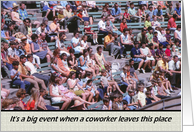 Coworker�Farewell�Goodbye - Crowd card