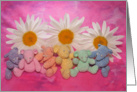 Pastel Rainbow Bears card