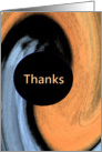 Thank You Volunteer - Abstract card