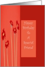 Happ Birthday - For Special Friend card