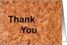 Thank You - Business card