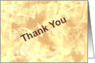 Thank You - For Your Donation card
