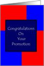 Congratulations - Promotion card