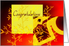 Congratulations With Flowers card
