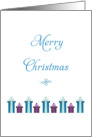 General Christmas Card-Merry Christmas-Holiday Presents and Gifts card