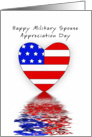 Military Spouse Appreciation Day Card