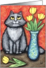 Maine Coon Cat Note Card