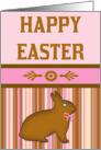 Happy Easter Chocolate Bunny card