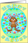 Happy Easter Chocolate Bunny 2 card