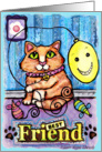 Best Friend Cat Card