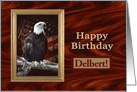 Proud Eagle, Birthday card