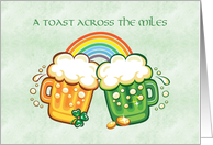 St. Patrick's Day, Across the Miles card