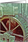 Water Wheel card