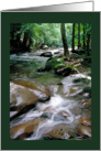 Mountain Stream card