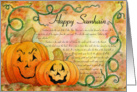 Happy Samhain Card