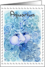 The Elements - Aquarius Card