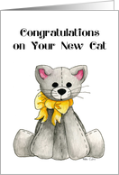 Congratulations on your Cat Card