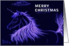 Unicorn - Christmas Card