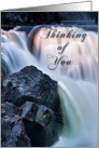 Thinking of you, Waterfall card