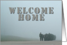 Welcome Home, Soldiers Marching card