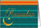 Ramadan - Star/Moon card