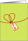Happy Father's Day gift tag card
