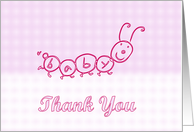 Baby Shower Thank You. Baby gift Thank You. Newborn Thanks for the gift card