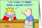 king, buffer, state card