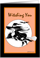 Witching You Happy Birthday card