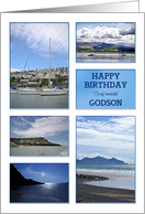 For Godson, a seascapes birthday card