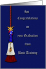 Congradulations on Graduating Basic Training card