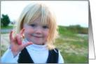 Sign Language I Love You card