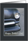 Father's Day-For Father-Classic Black Auto Photo card