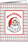 Santa Claus Christmas Card