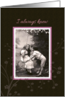 I always Knew you were the one vintage Wedding Anniversary card