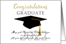 Congratulations High school graduate 2014 card