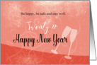 Happy New Year 2013 card