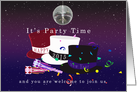 It's Party Time New Year's Eve Invitation card