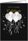 Sparkle New Year's Eve Party Invitation card