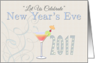 Party with us New Year's Eve Invitation card
