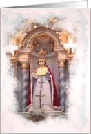 Catholic image Godchild's birthday card